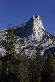 Αιχμή καθεδρικών ναών, εθνικό πάρκο Yosemite Στοκ Φωτογραφία