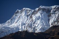 Αιχμή Annapurna στη σειρά του Ιμαλαίαυ, περιοχή Annapurna, του Νεπάλ Στοκ Εικόνα
