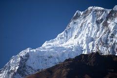Αιχμή Annapurna στη σειρά του Ιμαλαίαυ, περιοχή Annapurna, του Νεπάλ Στοκ εικόνες με δικαίωμα ελεύθερης χρήσης