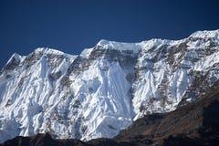 Αιχμή Annapurna στη σειρά του Ιμαλαίαυ, περιοχή Annapurna, του Νεπάλ Στοκ Εικόνες