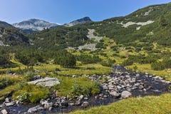 Αιχμή Chukar Banderishki, βουνό Pirin Στοκ φωτογραφία με δικαίωμα ελεύθερης χρήσης