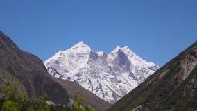 Αιχμή Himalayan απόθεμα βίντεο