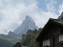 Αιχμή Matterhorn Στοκ φωτογραφία με δικαίωμα ελεύθερης χρήσης