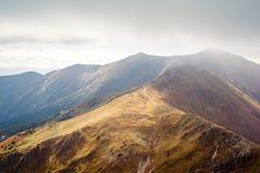 Αιχμή Placlive σε Tatras Στοκ Εικόνες