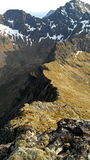 Αιχμηρή κορυφογραμμή Στοκ φωτογραφία με δικαίωμα ελεύθερης χρήσης