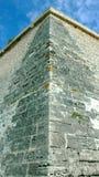 Αιχμηρός τοίχος ακροπόλεων - μακροχρόνιος τρόπος επάνω στοκ φωτογραφίες
