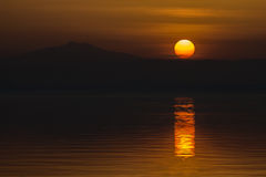 Αιχμηρό ηλιοβασίλεμα στοκ εικόνες με δικαίωμα ελεύθερης χρήσης