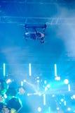 Αιωμένος κηφήνας στη σκηνή Στοκ φωτογραφία με δικαίωμα ελεύθερης χρήσης