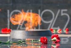 αιώνια πυρκαγιά Στοκ Φωτογραφίες