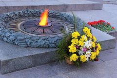 Αιώνια φλόγα Στοκ Εικόνες
