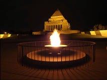 Αιώνια φλόγα στη λάρνακα της ενθύμησης Στοκ φωτογραφίες με δικαίωμα ελεύθερης χρήσης
