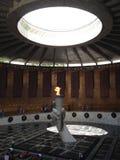 Αιώνια φλόγα στο μνημείο Mamayev Kurgan Στοκ εικόνα με δικαίωμα ελεύθερης χρήσης