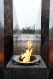Αιώνια φλόγα φλογών Στοκ εικόνα με δικαίωμα ελεύθερης χρήσης