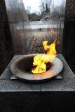 Αιώνια φλόγα φλογών Στοκ εικόνες με δικαίωμα ελεύθερης χρήσης