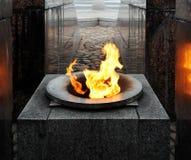 Αιώνια φλόγα φλογών Στοκ φωτογραφία με δικαίωμα ελεύθερης χρήσης