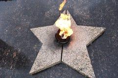 αιώνια φλόγα Στοκ Εικόνα
