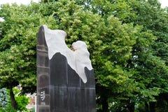 Αιώνιο μνημείο φλογών Στοκ φωτογραφία με δικαίωμα ελεύθερης χρήσης