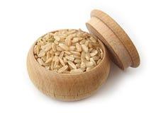 ακέραιο ρύζι Στοκ φωτογραφία με δικαίωμα ελεύθερης χρήσης