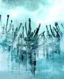 ακίδες θυελλώδεις Στοκ εικόνες με δικαίωμα ελεύθερης χρήσης
