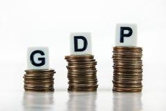 (Ακαθάριστο εγχώριο προϊόν) †«επιχειρησιακή ΑΕΠ έννοια Στοκ Φωτογραφίες