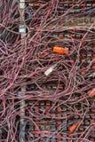 Ακατάστατα καλώδια Στοκ φωτογραφία με δικαίωμα ελεύθερης χρήσης