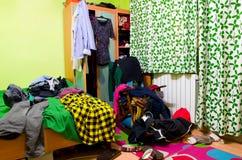 Ακατάστατο δωμάτιο Στοκ φωτογραφία με δικαίωμα ελεύθερης χρήσης