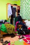 Ακατάστατο δωμάτιο Στοκ εικόνες με δικαίωμα ελεύθερης χρήσης