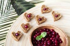 Ακατέργαστα γλυκά τροφίμων Στοκ Εικόνες