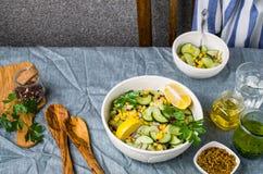 ακατέργαστα λαχανικά σα&lam Στοκ Φωτογραφία