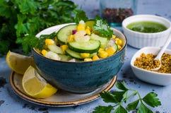ακατέργαστα λαχανικά σα&lam Στοκ Εικόνα