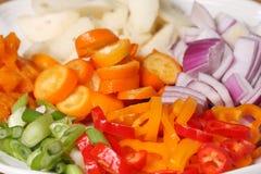 ακατέργαστα λαχανικά Στοκ Φωτογραφίες