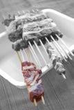 Ακατέργαστα μίνι οβελίδια προβάτων Στοκ Φωτογραφία
