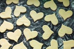 Ακατέργαστα μπισκότα Στοκ φωτογραφία με δικαίωμα ελεύθερης χρήσης