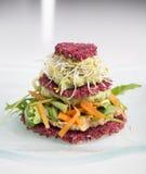 Ακατέργαστα τρόφιμα - σάντουιτς Στοκ φωτογραφίες με δικαίωμα ελεύθερης χρήσης