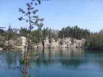 Ακατέργαστη λίμνη Στοκ Εικόνες