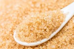 ακατέργαστη ζάχαρη Στοκ Εικόνες