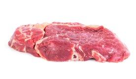 Ακατέργαστη μπριζόλα βόειου κρέατος Στοκ Εικόνες