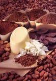 Ακατέργαστη σοκολάτα στοκ εικόνες με δικαίωμα ελεύθερης χρήσης
