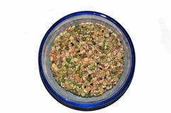 ακατέργαστη σούπα δημητριακών στοκ εικόνες