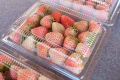 ακατέργαστη φράουλα Στοκ φωτογραφίες με δικαίωμα ελεύθερης χρήσης