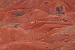 Ακατέργαστος βωξίτης ορυχείων βωξίτη στην επιφάνεια Στοκ φωτογραφίες με δικαίωμα ελεύθερης χρήσης