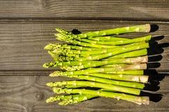 Ακατέργαστος εύγευστος φρέσκος τροφίμων Aspargus Στοκ εικόνα με δικαίωμα ελεύθερης χρήσης