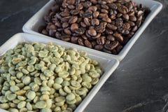 ακατέργαστος καφέ φασο&lamb Στοκ φωτογραφίες με δικαίωμα ελεύθερης χρήσης
