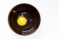 Ακατέργαστο αυγό κοτόπουλου Στοκ Φωτογραφίες