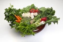 ακατέργαστο λαχανικό Στοκ Εικόνες