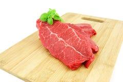 Ακατέργαστο βόειο κρέας Στοκ Εικόνα