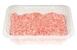Ακατέργαστο επίγειο χοιρινό κρέας Στοκ φωτογραφία με δικαίωμα ελεύθερης χρήσης