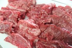 Ακατέργαστο κορεατικό BBQ βόειου κρέατος σπιτικό ύφος Στοκ φωτογραφία με δικαίωμα ελεύθερης χρήσης