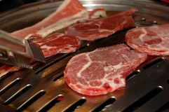 Ακατέργαστο κρέας Στοκ Φωτογραφίες