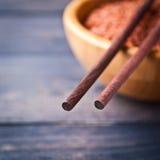 Ακατέργαστο κόκκινο ρύζι Στοκ Εικόνα